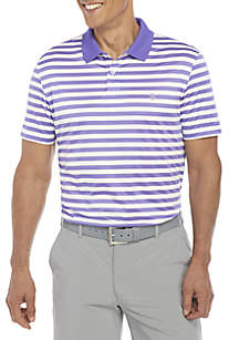 IZOD Short Sleeve Clubhouse Ventilated Polo