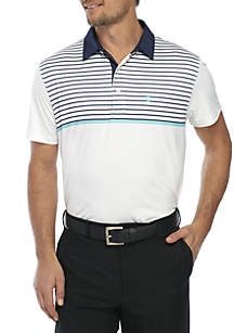 Short Sleeve Printed Polo Shirt