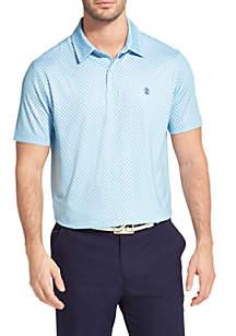 IZOD Diamond Print Golf Polo Shirt