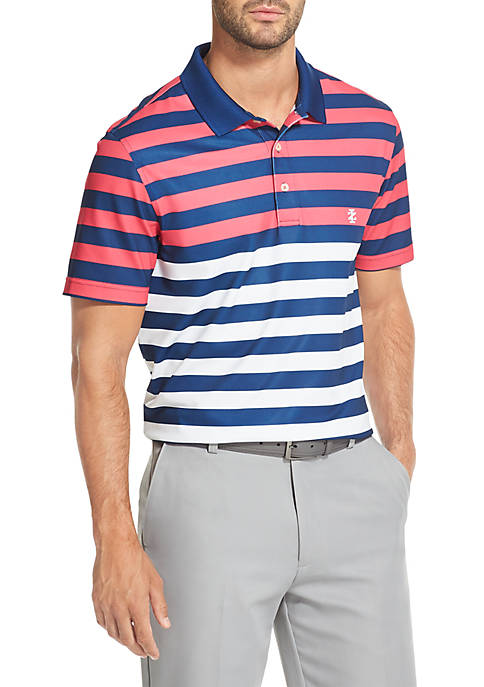 IZOD Striped Golf Polo Shirt