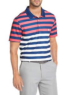 IZOD Striped Golf Polo Shirt