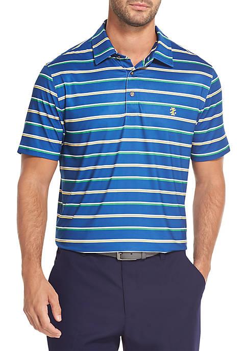 Striped Golf Polo Shirt