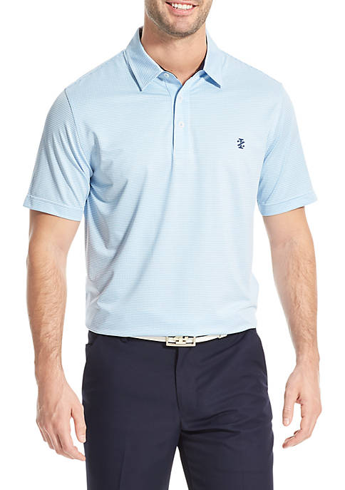 IZOD Gingham Golf Polo Shirt