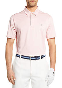 IZOD Gingham Golf Polo Shirt