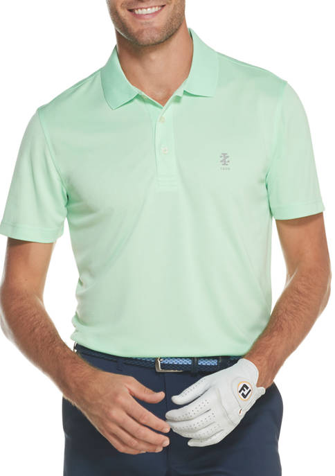 IZOD Mens Golf Grid Polo Shirt