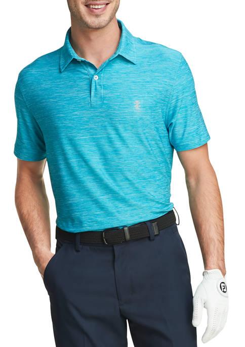 IZOD Mens Golf Title Holder Polo Shirt