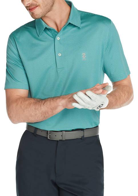 IZOD Golf Gingham Polo