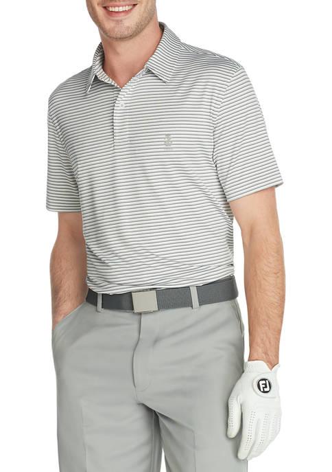IZOD Golf Mini Striped Polo