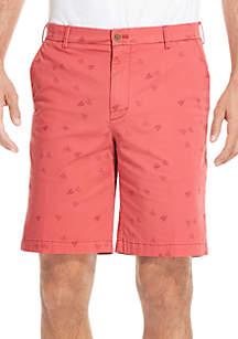 IZOD Saltwater Stretch Printed Shorts