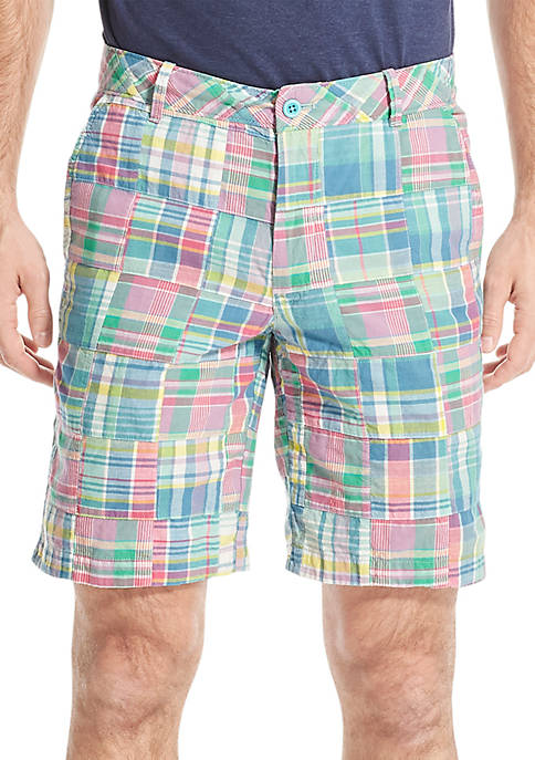 IZOD Saltwater Dockside Madras Shorts