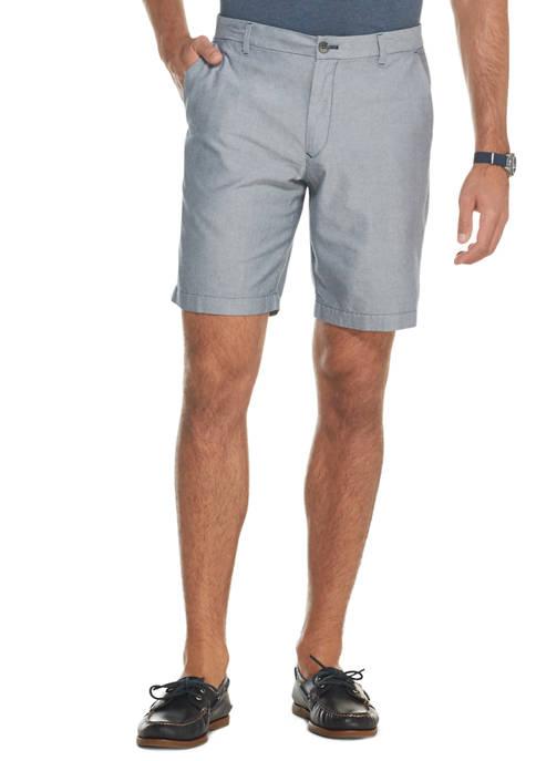 Stretch Oxford Shorts