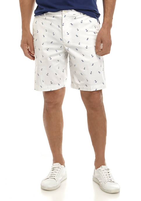 IZOD Mens Anchor Shorts