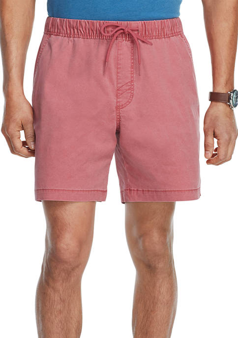 Saltwater Pigment Dyed Elastic Shorts