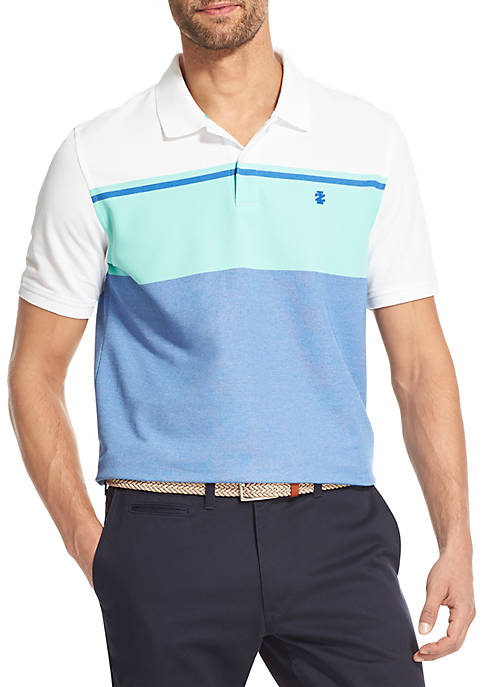 IZOD Advantage Performance Colorblock Polo Shirt