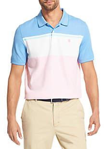 IZOD Advantage Performance Colorblock Polo Shirt