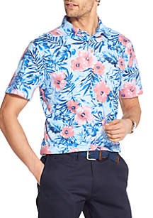 IZOD Dockside Printed Polo Shirt