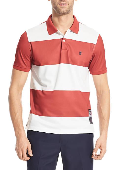Advantage Performance Americana Stripe Polo Shirt