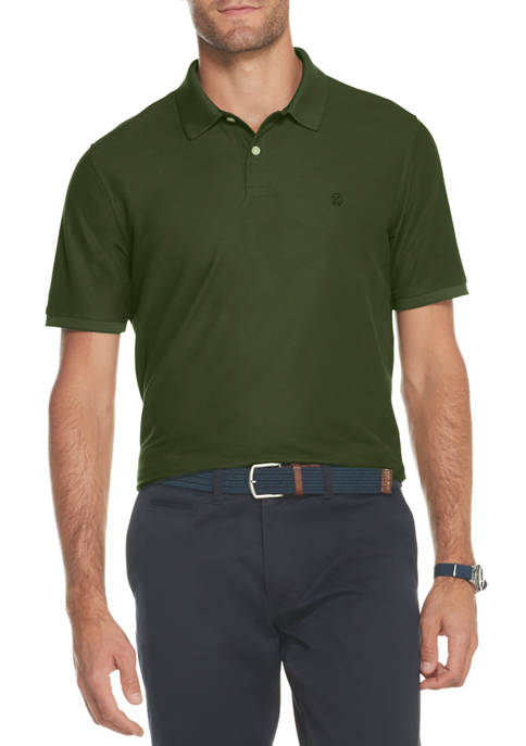 IZOD Mens Advantage Performance Polo Shirt
