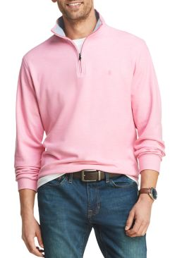 IZOD Mens Saltwater 1/4-Zip Pullover (various colors/sizes)
