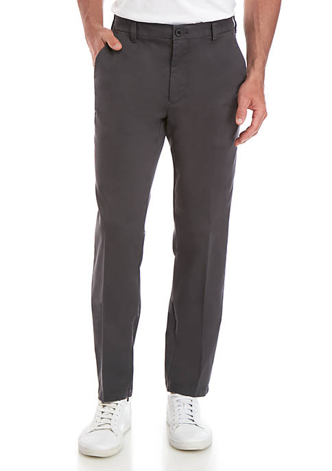 IZOD Performance Stretch Flat Front Chino Pants