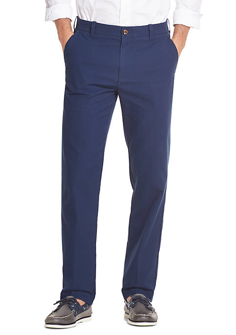 IZOD Breeze Seersucker Stretch Flat Front Pants