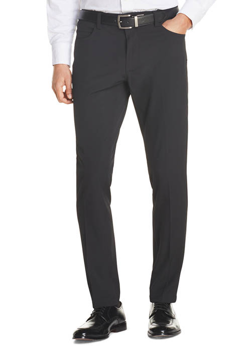 Advantage Performance Straight Tapered Fit Non Iron Five Pocket Tech Pants