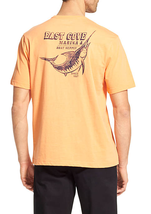 IZOD Short Sleeve East Cove Marina T-Shirt