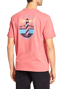 Short Sleeve Riptide Sound Graphic T-Shirt