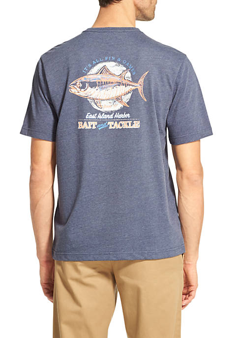 IZOD Short Sleeve Bait and Tackle T-Shirt