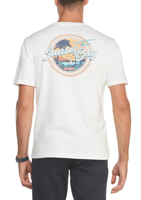 IZOD Mens Saltwater Graphic T-Shirt