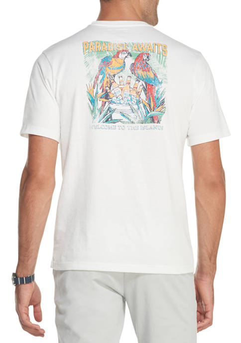Mens Saltwater Graphic T-Shirt