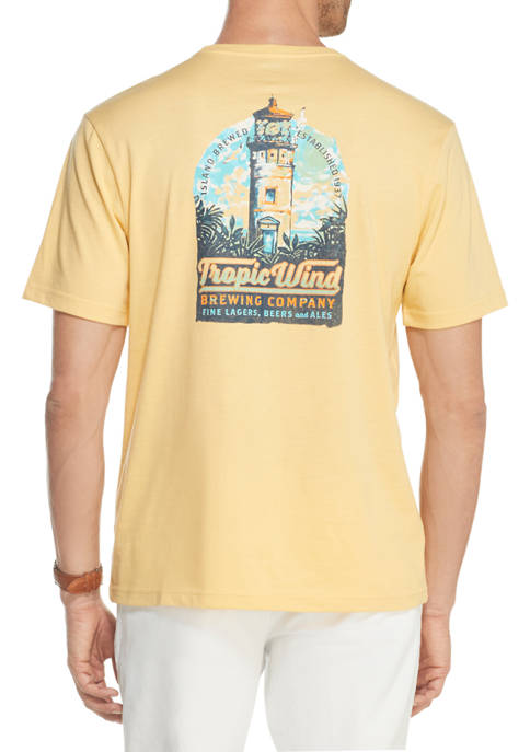 Mens Saltwater Graphic T-Shirt