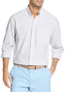 IZOD Premium Essentials Plaid Button-Down Shirt