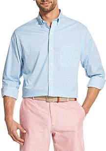 IZOD Premium Essentials Floral Button Down Shirt