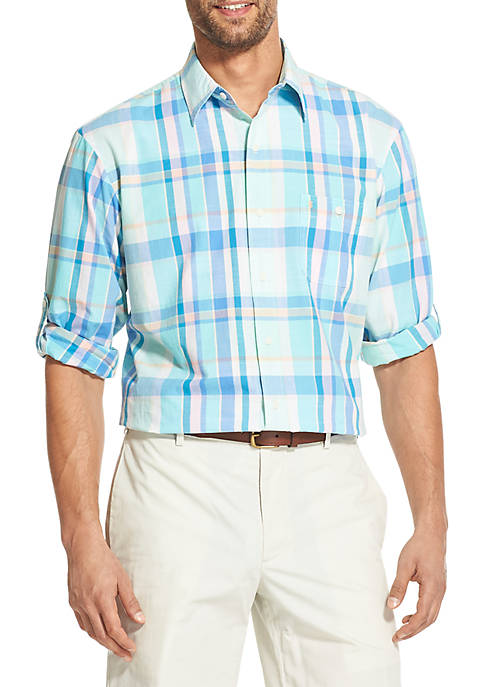 IZOD Saltwater Dockside Chambray Button Down Shirt
