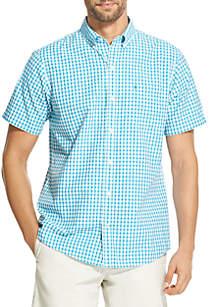 IZOD Short Sleeve Breeze Gingham Shirt