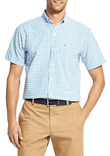 Short Sleeve Breeze Gingham Shirt