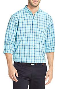 Breeze Plaid Button-Down Shirt