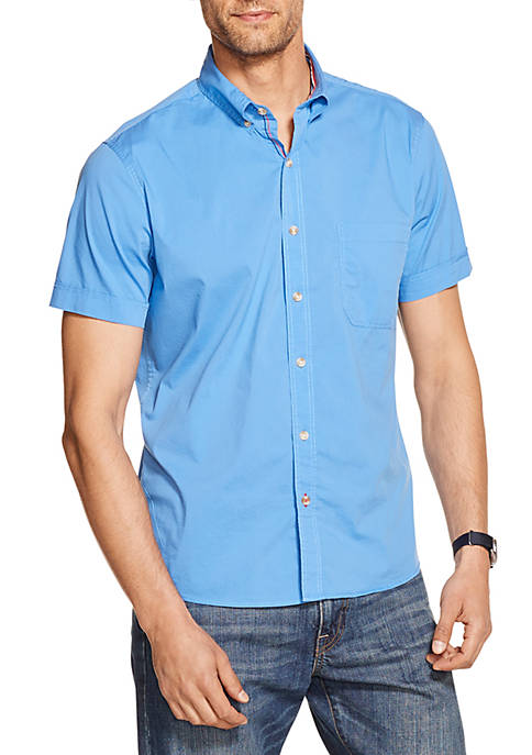 IZOD Breeze Short Sleeve Button Down Shirt