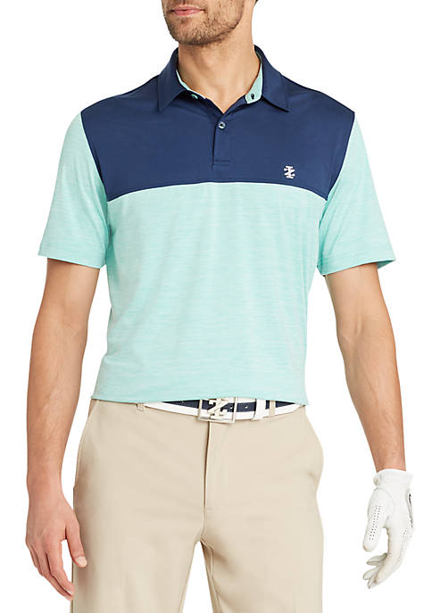 IZOD Tee Time Block Polo