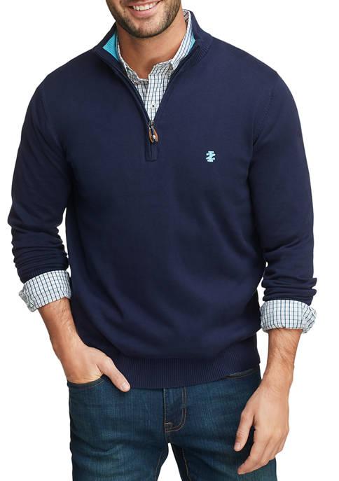 IZOD Golf Quarter-Zip Pullover