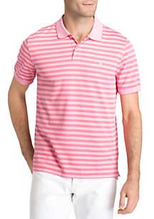 Short Sleeve Feeder Stripe Polo