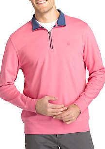 1/4 Zip Interlock Pullover