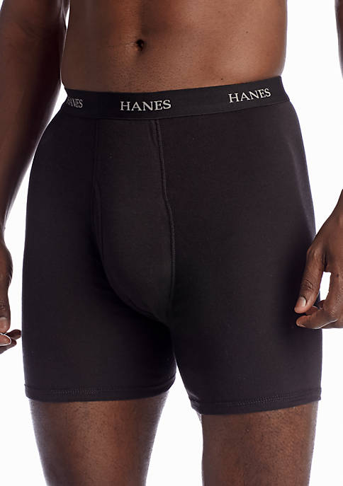 Hanes® Ultimates 5-Pack Classic Tag-Free Boxer Briefs