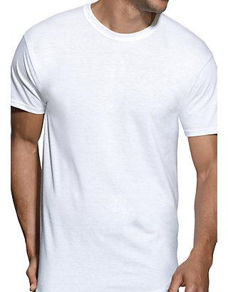 Hanes Boys Ultimate X-TEMP/® TAGLESS/® White Crew 4-Pack