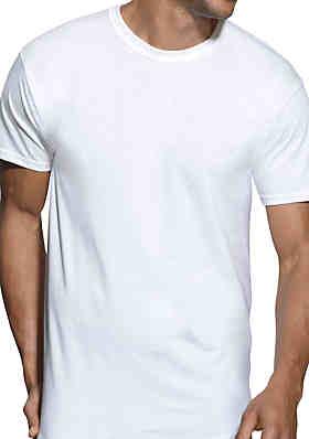 19fb28b6 Hanes® Platinum XTemp Cool Comfort Tagless® Crew Neck T Shirts 4 Pack ...