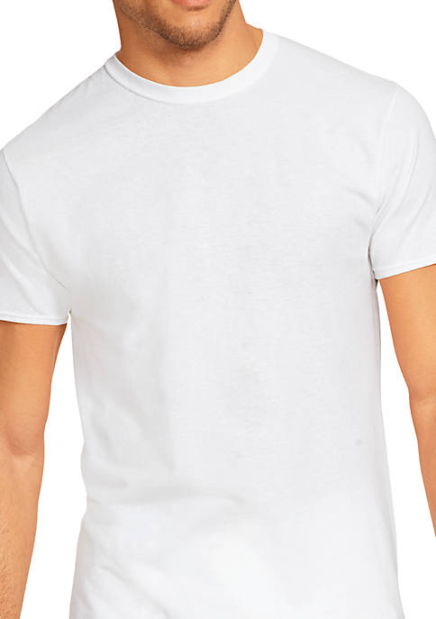 Hanes® Platinum Stretch Tagless® T Shirt 4 Pack