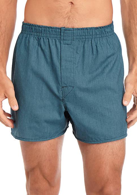 Hanes® Platinum Classic Cotton Tagless® Boxer 4 Pack