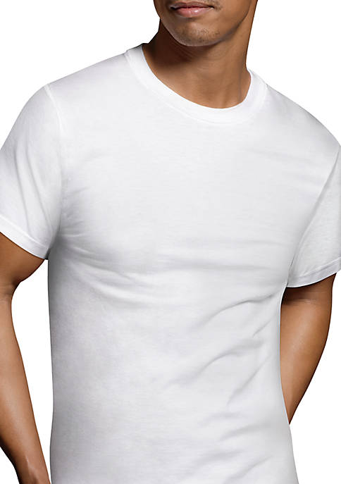 Platinum Classic Cotton Everyday Comfort Tagless® T Shirt 6 Pack