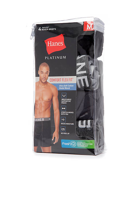 Hanes® Platinum Comfort Flex Fit Ultra Soft Modal